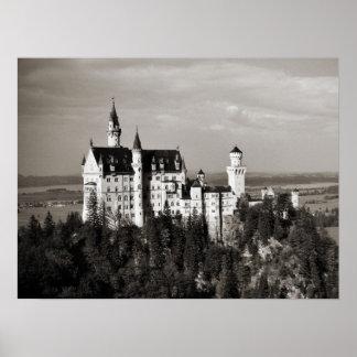 NEUSCHWANSTEIN kasteel Duitsland Poster