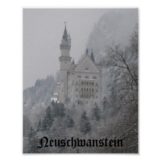 Neuschwanstein Poster