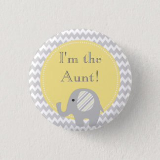 Neutraal Baby shower ben ik de Knoop van de Ronde Button 3,2 Cm