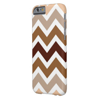 Neutrale Browns iPhone 5 van het Patroon van de Barely There iPhone 6 Hoesje