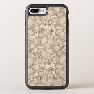 Neutrale de Val van de Vlieg van het Venus OtterBox Symmetry iPhone 8 Plus / 7 Plus Hoesje