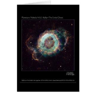 Nevel NGC 6369 de Kleine Telescoop van Hubble van Briefkaarten 0