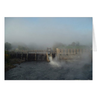 Nevelige Dam Kaart