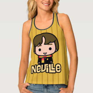 Neville Longbottom Cartoon Character Art Tanktop