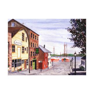 New Bedford, Cape Cod Canvas Afdrukken