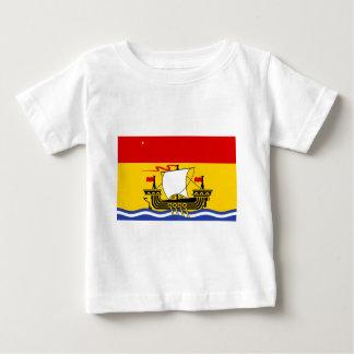 New Brunswick Vlag Baby T Shirts
