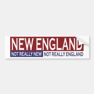 New England Bumpersticker