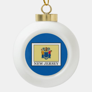 New Jersey Keramische Bal Ornament