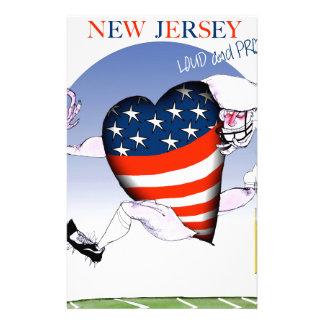 New Jersey luide en trotse, tony fernandes Briefpapier
