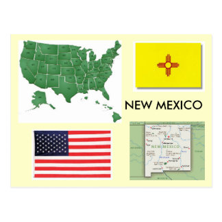 New Mexico, de V.S. Briefkaart