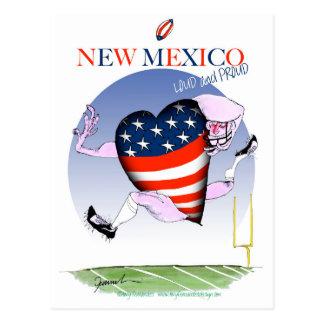 New Mexico luide en trotse, tony fernandes Briefkaart