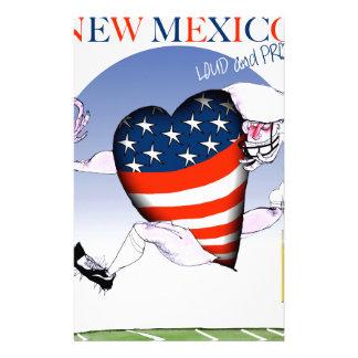 New Mexico luide en trotse, tony fernandes Briefpapier