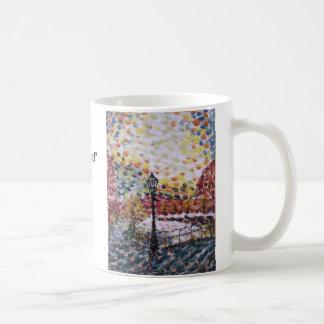 """""""New Morning op een Nederlands Kanaal """" Olie… - Koffiemok"""