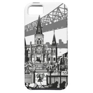 New Orleans Louisiane Tough iPhone 5 Hoesje