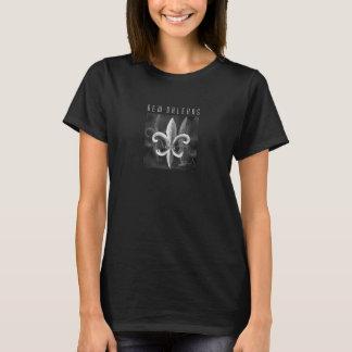 New Orleans Shadow Fleur DE Lis Tee T Shirt