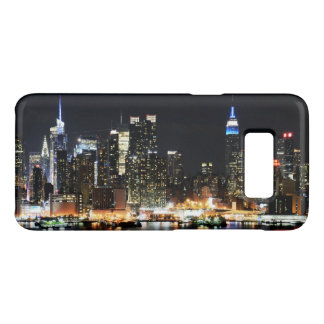 New York bij Nacht Case-Mate Samsung Galaxy S8 Hoesje