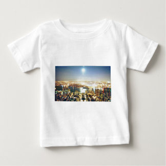 New York city at night Baby T Shirts