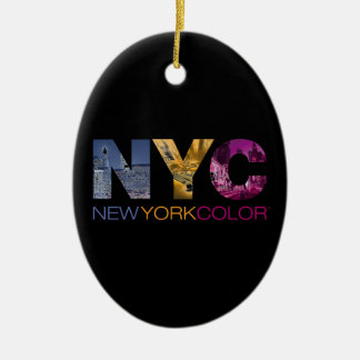 New York Color Collection Keramisch Ovaal Ornament