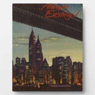 New York die altijd opwekken Fotoplaat