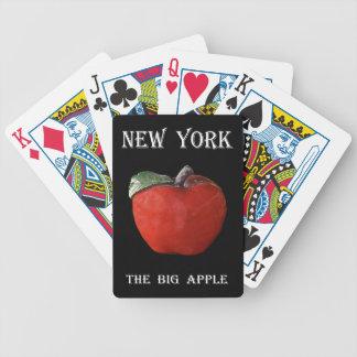 New York Groot Apple Bicycle Speelkaarten