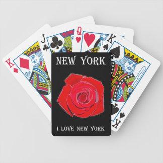 New York I Liefde New York (nam toe) Bicycle Speelkaarten
