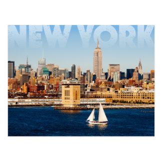 New York stad Briefkaart