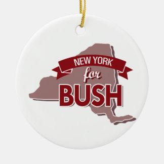 NEW YORK VOOR BUSH - .PNG ORNAMENTEN