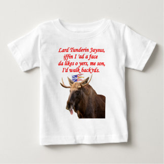 NEWFIE GANG BACKWARDS.png Baby T Shirts
