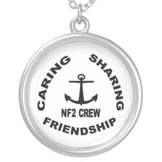 NF2Crew Ketting met Zwart Logo