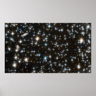 NGC 6791 - Volledig van Hubble Acs- Gebied Poster