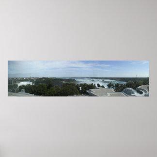 Niagara/HoefijzerHerfsten - van 8ste verdieping va Poster