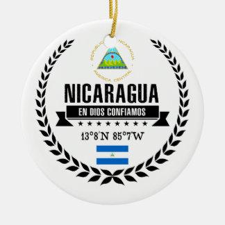 Nicaragua Rond Keramisch Ornament