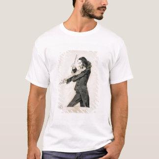 Niccolo Paganini die (1782-1840) Viool, 1 spelen T Shirt