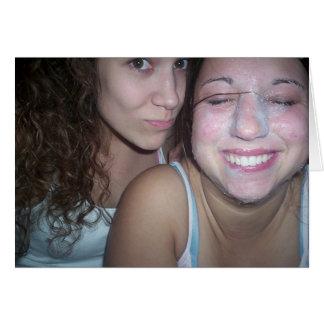 Nicole en Lauren Briefkaarten 0