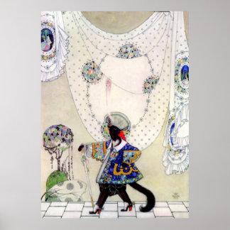 Nielsen van Kay Puss in Laarzen Poster
