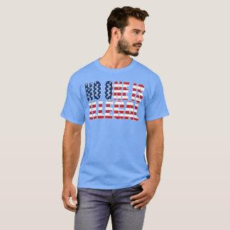 """Niemand is Onwettige"" dark T Shirt"