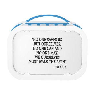 Niemand redt ons maar zelf lunchbox