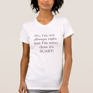Niet altijd net t shirt