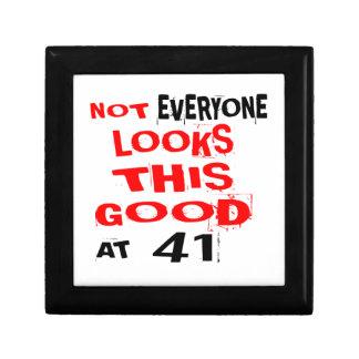 Niet bekijkt Elk één Dit Goed 41 Verjaardag Desig Decoratiedoosje