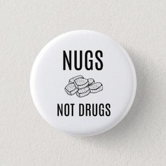 NIET DE KNOOP VAN DRUGS NUGS RONDE BUTTON 3,2 CM