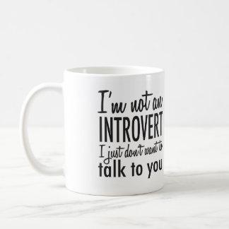 Niet een Mok van het Introvert