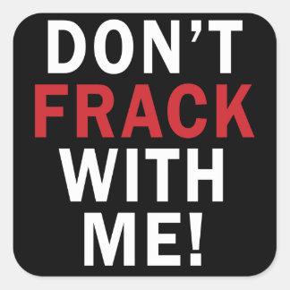 niet Frack met me! - Regel Stickers (6/sheet)