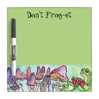 """niet kikker-et"" de Lezing Froggy Whiteboards"