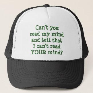 Niet kunt u Mijn Mening lezen. Ik kan niet Uw pet