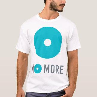 NIET MEER Mannen/Unisex-T-shirt met Tagline op Rug T Shirt