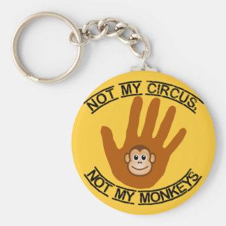 Niet Mijn Circus - keychain Sleutelhanger