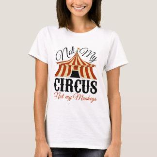 Niet Mijn Circus - niet Mijn Apen T Shirt