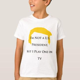 Niet President maar Spel op TV T Shirt