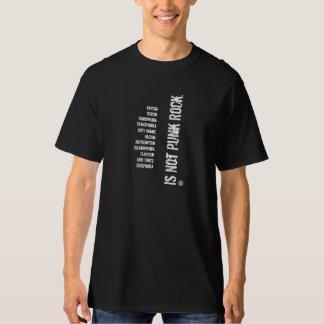 Niet Punk rock T Shirt