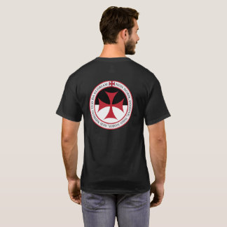 Niet Unto ons, Lord van O - Kruis Templar en Motto T Shirt